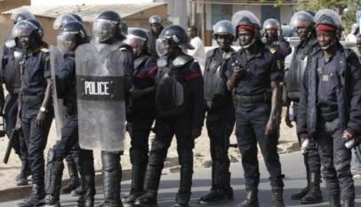 la police senegal
