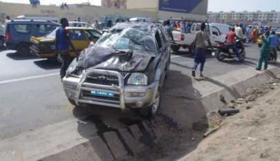 accident sur la route de tivaouane