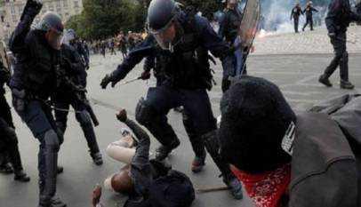 un sénégalais battu par la police brésilienne