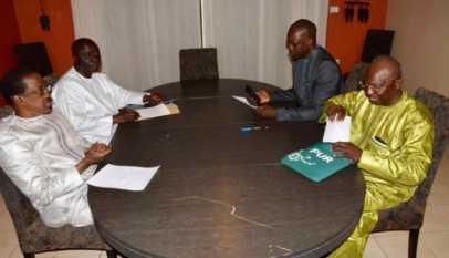 réunion secrète des candidats malheureux