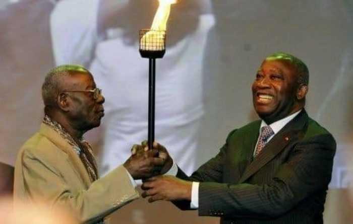 laurent gbagbo rend hommage à Bernard dadié