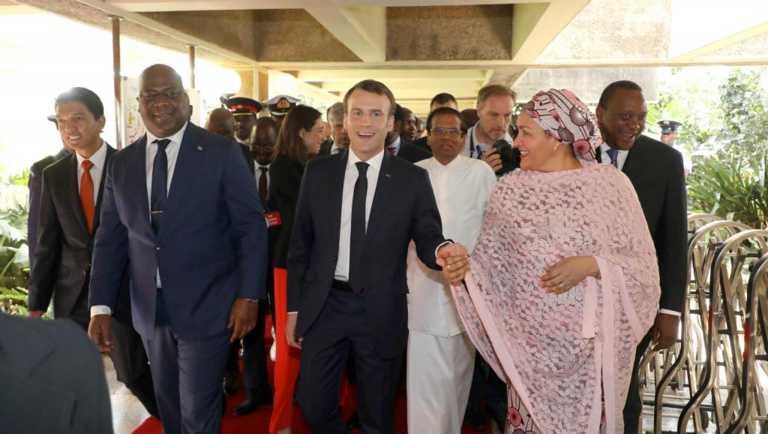 emmanuel macron, Félix Tshisekedi, Uhuru Kenyatta, kenya, les dessous de leur rencontre
