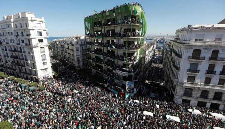 manifestation en algérie