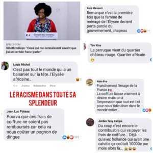 D3Jw7 wX4AAEg8h 300x300 Nomination de Sibeth Ndiaye: Des français expriment leur colère sur la toile