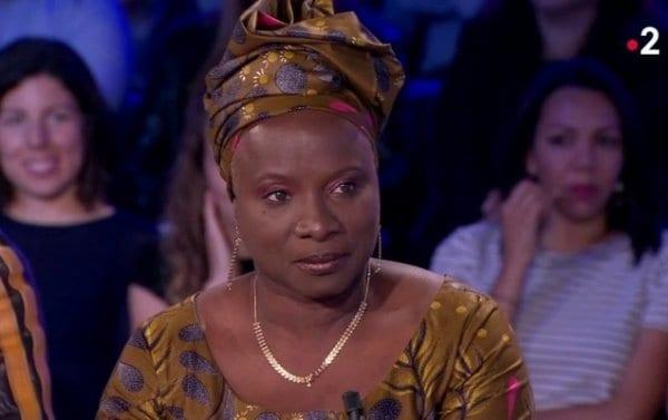 angélique kidjio parle des gilets jaunes