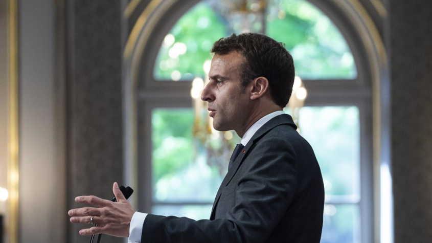 emmanuel macron parle aux français