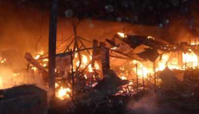 mali: incendie dans une station d'essence