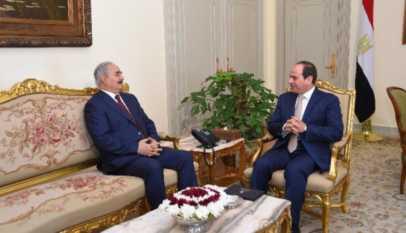Crise en Libye: Le maréchal Haftar s'allie avec le président Egyptien Abdel Fattah al-Sissi