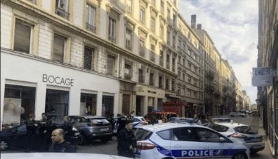 France explosion de colis à Lyon