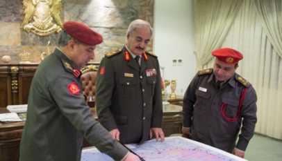 Libye: Les forces de Haftar détruisent le siège du gouvernement de Tripoli
