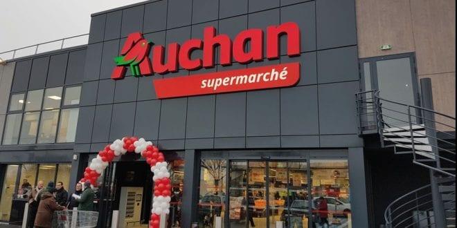 Auchan en faillite: 21 de ses magasins vendus en France