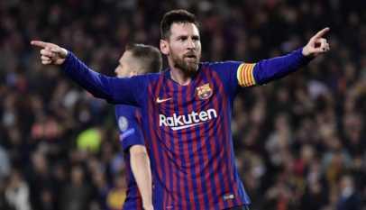 Football: La presse européenne s'enflamme pour Messi