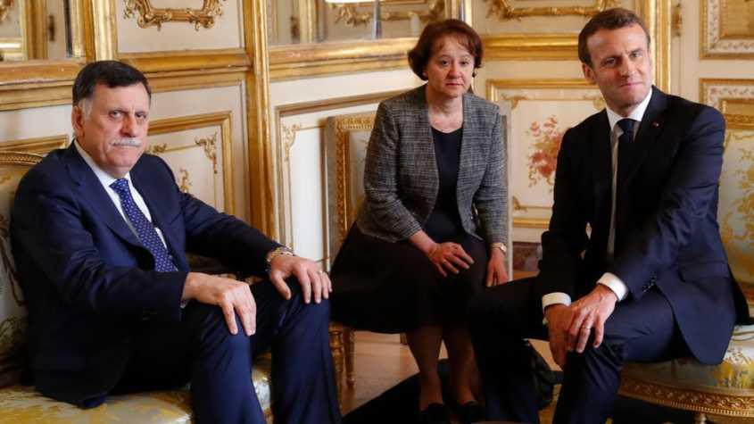 Libye: Emmanuel Macron réaffirme son soutien au GNA