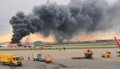 Russie: 41 morts après l'atterrissage d'urgence d'un avion
