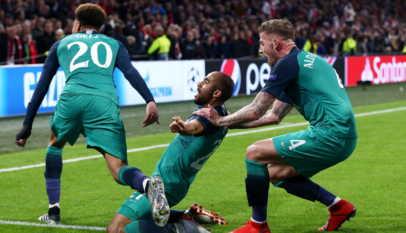Tottenham surclasse l'Ajax et rejoint Liverpool en finale