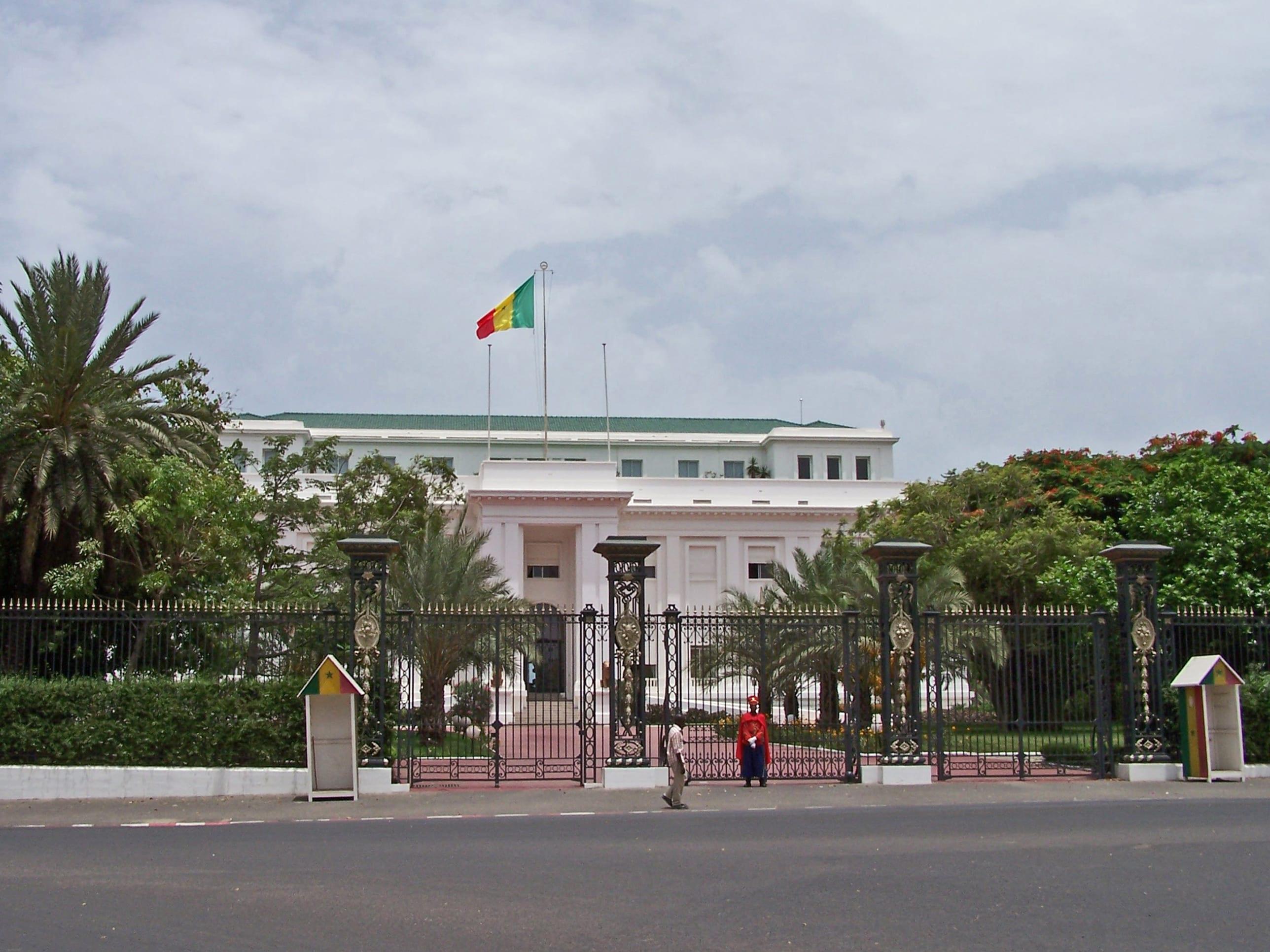 Dakar Palais présidentiel
