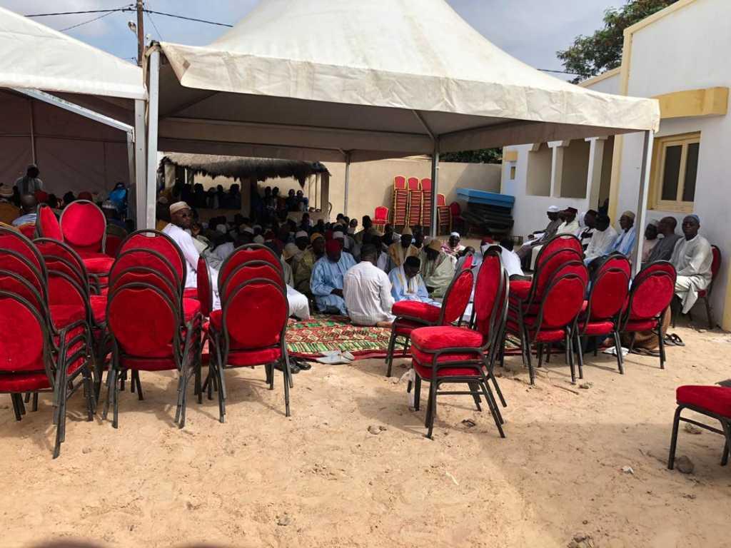 Ngueniene OTD 08 1024x768 (Photos) Inhumation de Tanor Dieng: Nguéniène grouille déjà du monde