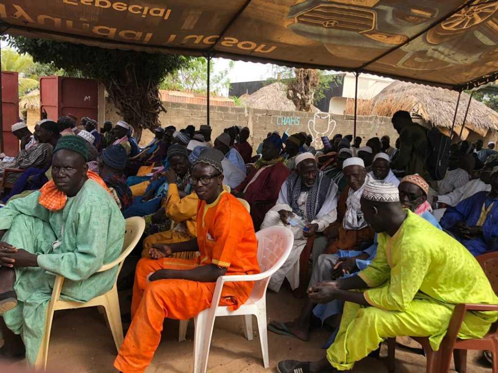 Ngueniene OTD 12 1024x768 (Photos) Inhumation de Tanor Dieng: Nguéniène grouille déjà du monde