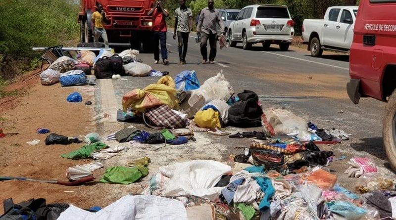 Dernière minute-Bignona: Un bus heurte un arbre et fait plusieurs morts