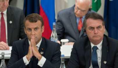 Le torchon brûle entre Macron et son homologue brésilien Jair Bolsonaro