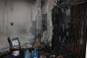 maison brulée 300x200 Incendie à limmeuble Fayçal (photo)