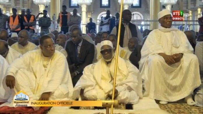 Massalikoul Jinane: Macky Sall et Me Wade réunis (photos)
