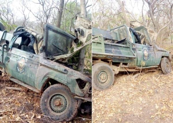 véhicule armée
