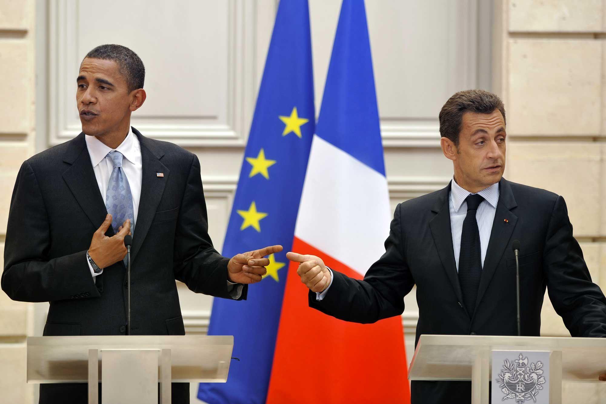 Dans ses mémoires, Barack Obama compare Nicolas Sarkozy à un